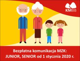 Bezpłatna komunikacja Junior-Senior