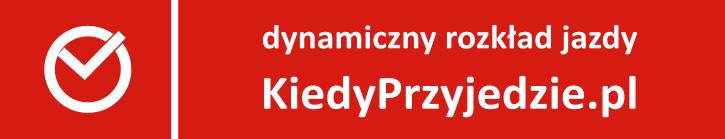 dynamiczny rozkład jazdy kiedyprzyjedzie.pl