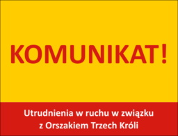 komunikat - Orszak Trzech Króli