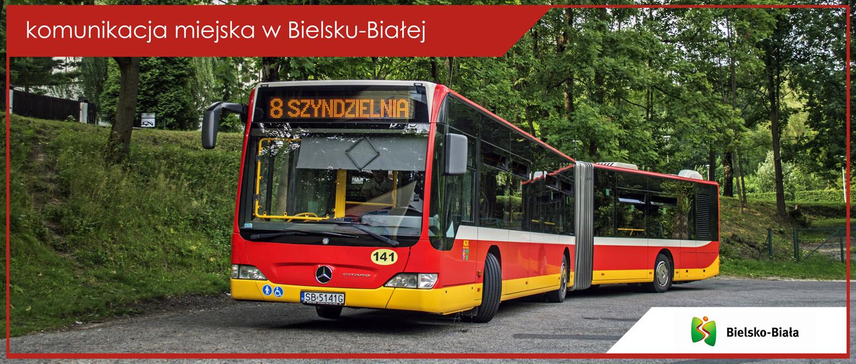 Baner komunikacja miejska w Bielsku-Białej - Mercedes-Benz Citaro G