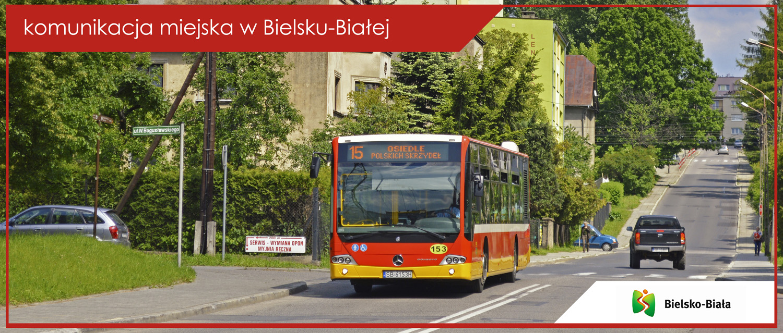 Baner komunikacja miejska w Bielsku-Białej - Mercedes Conecto LF