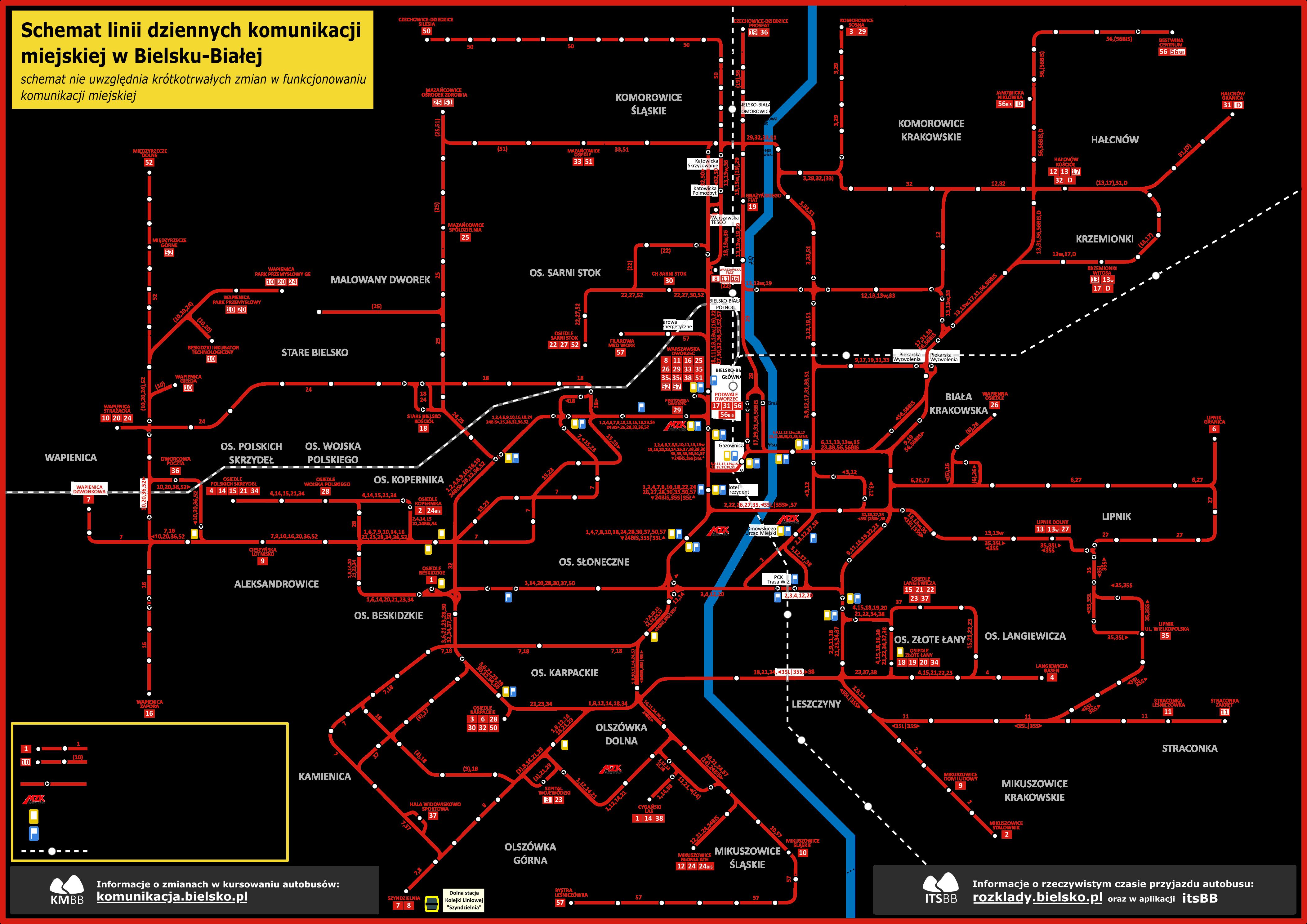 schemat sieci MZK 2020