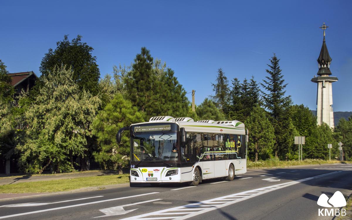 Testowy autobus Rafako na linii nr 21.