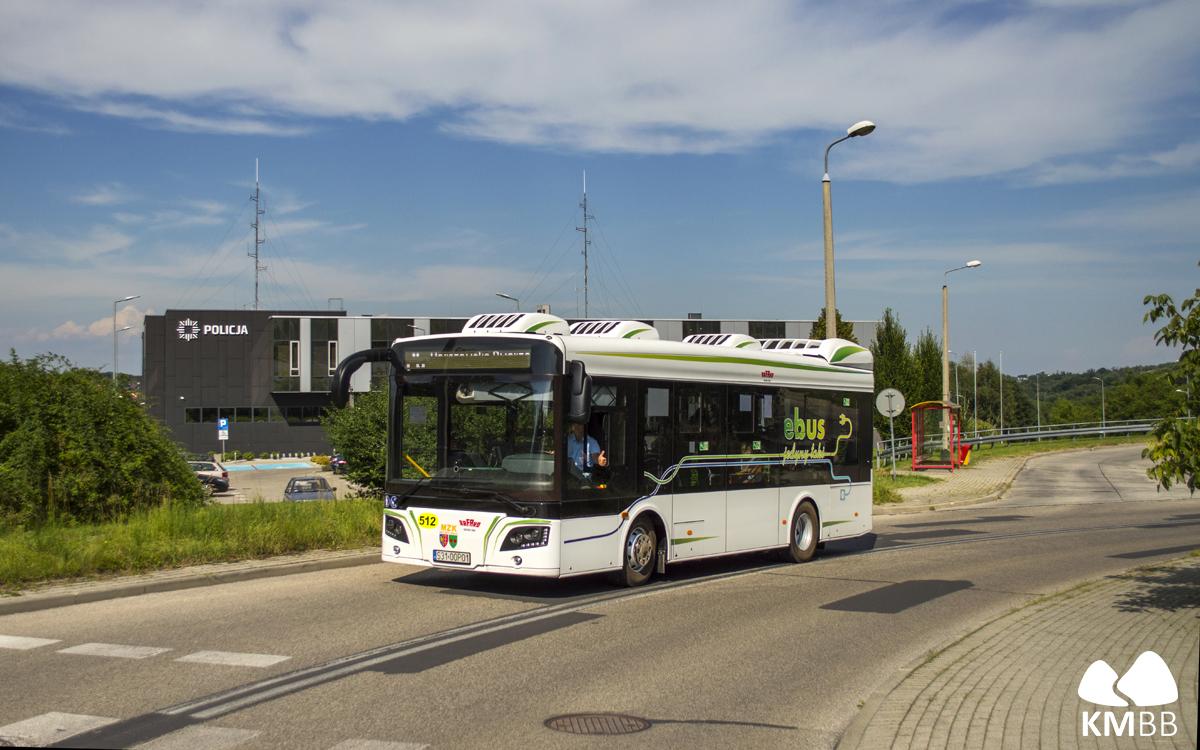 Testowy autobus Rafako na linii nr 26.