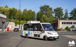 Testowy autobus K-BUS E-Solar City