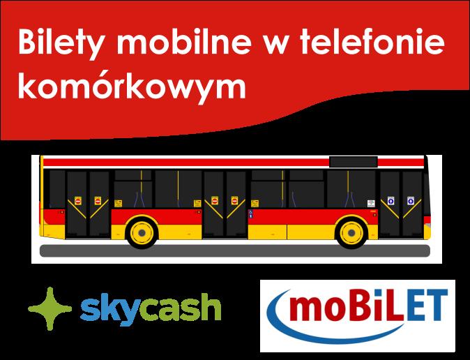 Bilety mobilne w telefonie komórkowym