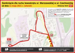 Objazd ul. Warszawska